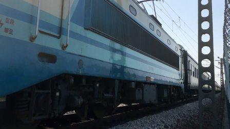 【2017.07.29】K575次 通过沪昆线杭南供电所门口 SS80017