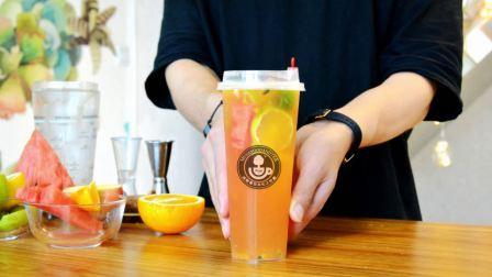 超级水果四季春 水果茶配方 喜茶配方 喜茶教程 奶茶饮品配方 沐歌餐饮文化工作室