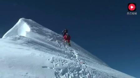 登顶珠穆朗玛,绝美影像记录