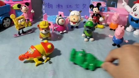小猪佩奇粉红猪小妹冰淇淋车 玩具视频98