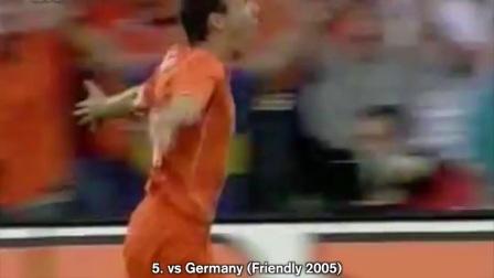 罗本荷兰队37球全记录(2003-2017)