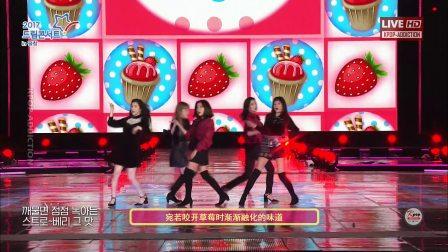 【HD/中字】Red Velvet - Red Flavor 《平昌梦想演唱会》