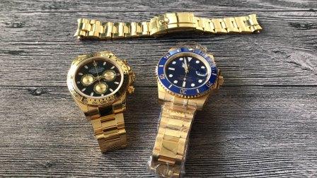 【对比】手表包金工艺高低对比