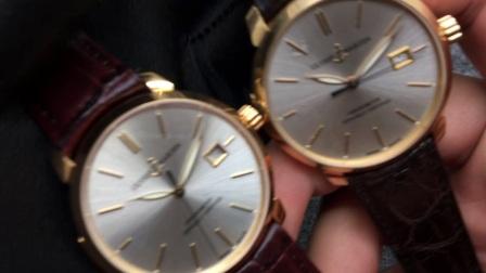 正品对比复刻评测 -雅典 鎏金经典8156 小金表 正装表首选
