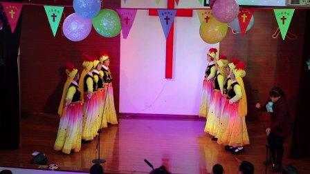 基督教舞蹈《活出爱》-郑州孙庄基督教会圣诞节