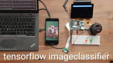 Android Things TensorFlow image classifier sample