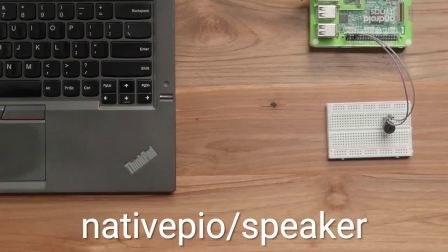 Android Things Native Peripheral I/O APIs: Speaker