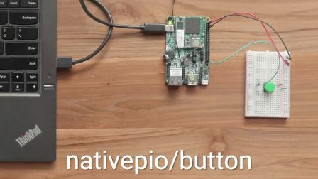 Android Things Native Peripheral I/O APIs: Button