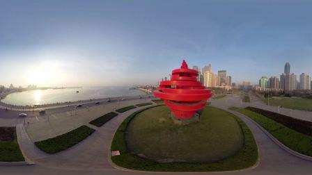 飞跃青岛VR版 青岛 首部 航拍VR 城市风光片 预告片