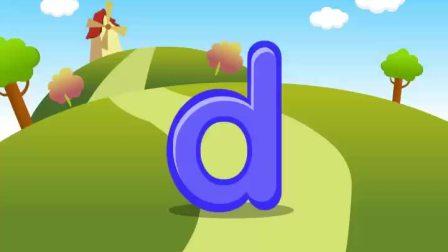 Alphabet---Letter Dd