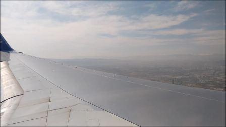 2017年9月阿斯塔纳航空波音752(P4-FAS)乌鲁木齐降落片段