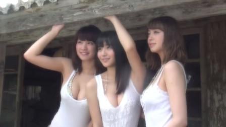 久松郁実 ヤンマガ三銃士(いくみん、藍ちゃん、なぁぽん)の夏合宿