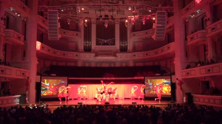 2018年2月19日 祖国陪你过年-欢乐春节江西团印州卡梅尔市演出 (短片)