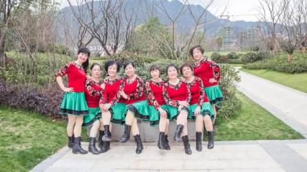 【琴瑟广场舞】《八百里洞庭我的家》 -与玉凤广场舞姐妹共舞 民族舞