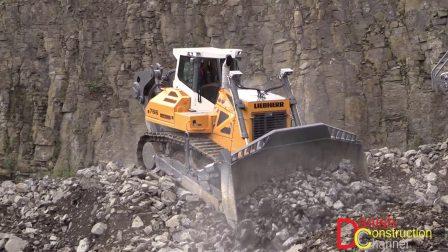 利勃海尔PR766 推土机工作