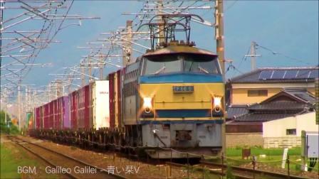 火车视频: 6K原型车-JR EF66/EF81合辑