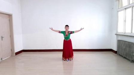 兰州西固利友舞蹈团队舞蹈:《卓玛泉》原创:午后骄阳.习舞:辛辛(辛姐666)