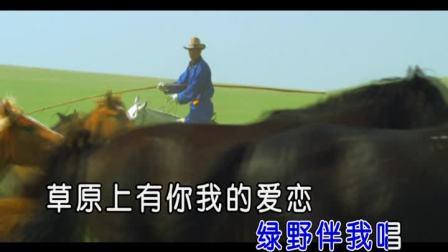 马背上的眷恋-蓝馨