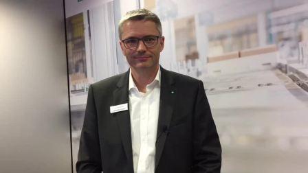 2018德国汉诺威展倍加福Mr.Reiner Mueller接受采访