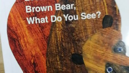经典绘本Brown bear ,brown bear what do you see?