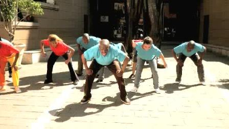 南非世界杯 第四节 Diski Dance-Trepa