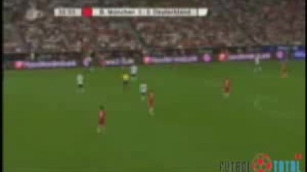 2008卡恩告别赛拜仁慕尼黑1—1德国