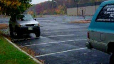 强人,漂移停车