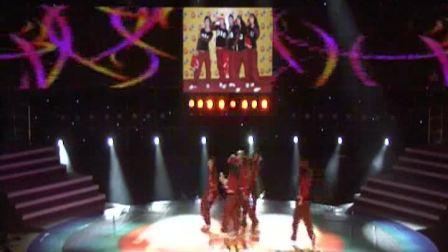 电子科技大学与四川大学GD舞蹈联队 健身街舞校园组