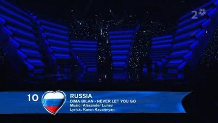 俄罗斯dima_bilan-never_let_it_go-(russia_fianl)