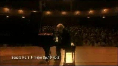 贝多芬第六钢琴奏鸣曲(F大调 Op10 No2)第一乐章