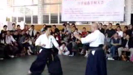 【侯韧杰  Aikido  精华篇】之 合气道经典位移欣赏!