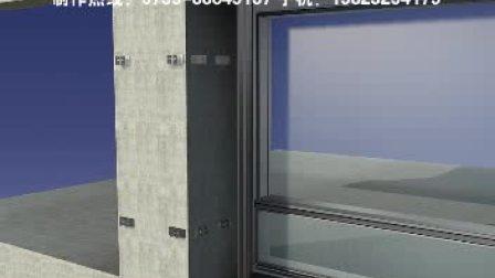 深圳证券大厦幕墙施工三维动画制作(天美影作品)