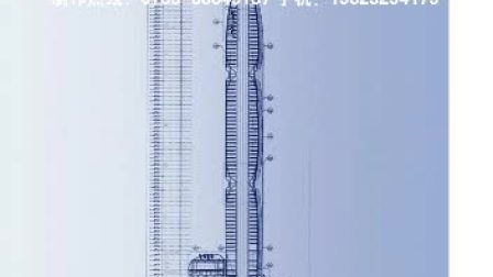珠江城广州烟草大厦幕墙施工3d动画制作(天美影作品)