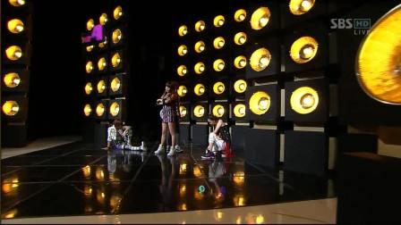 2NE1 SBS_Fire受赏安可