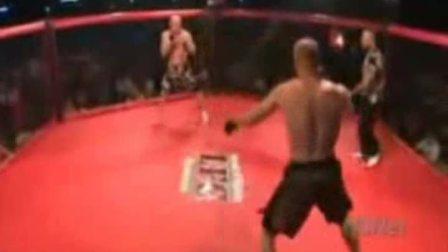 拳击手罕见同时K.O画面