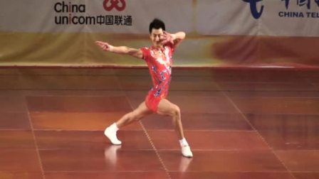 2008全国健美操锦标赛精英组男子单人操(周校锋)