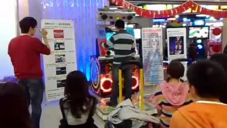 预赛第2名选手:文盲(北京金银岛电玩  跳舞机5代表演赛)