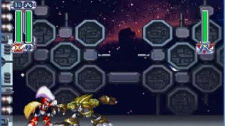 PS洛克人X4日版ZERO对战雄狮战法演示