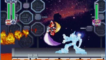 PS洛克人X4日版ZERO对战火龙战法演示