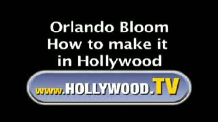 2002年 Orlando接受Hollywood TV采访