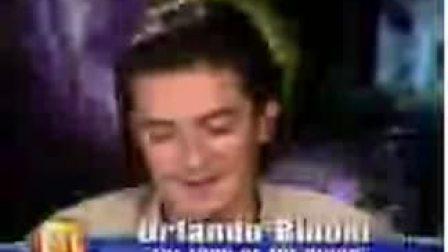 2003年12月 魔戒3宣传 ETonline今晚娱乐专访Orlando(下)