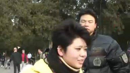 【气候中国之声】天坛公园游客