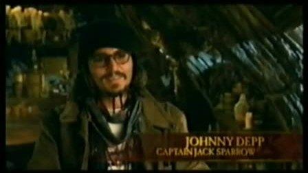 加勒比海盗3幕后花絮