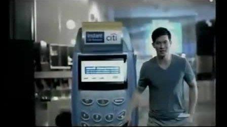 Ken花旗银行广告