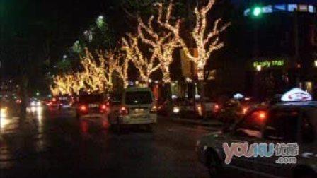 [拍客]上海火树银花迎圣诞