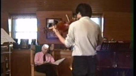 胡坤与梅纽因大师私人课-埃尔加协奏曲