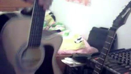 木吉他犯错