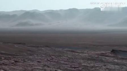 NASA最近公布了一段好奇号拍摄的火星全景