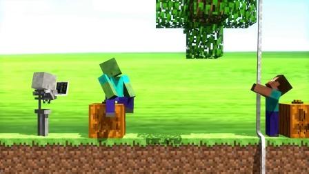 我的世界动画-怪物学院版各类汤姆猫挑战-rusplaying