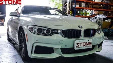 宝马 BMW F32 N26 428i / 巨石工业 STONE EXHAUST